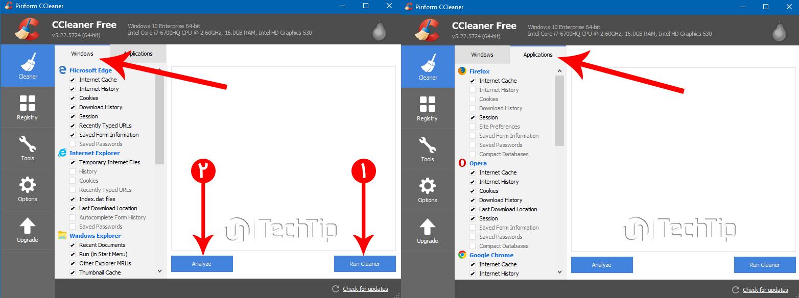 ccleaner ابزار بهینه سازی سیستم