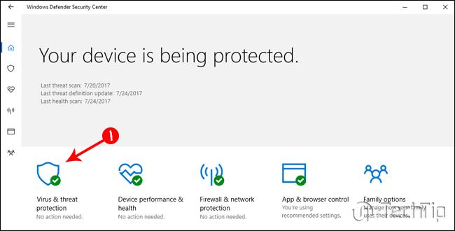 ویندوز دیفندر - Windows Defender