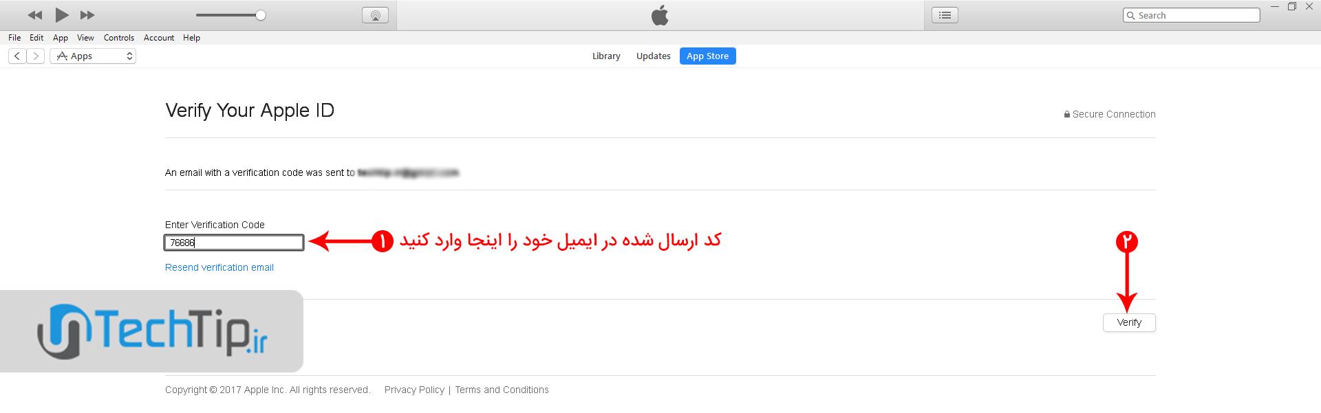 آموزش ساخت اپل آیدی (Apple ID)