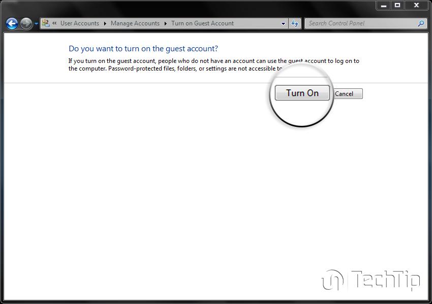 ساخت حساب مهمان در ویندوز