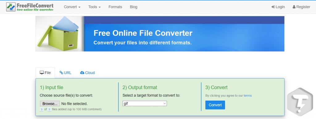 تبدیل فرمت فایل ها بصورت آنلاین