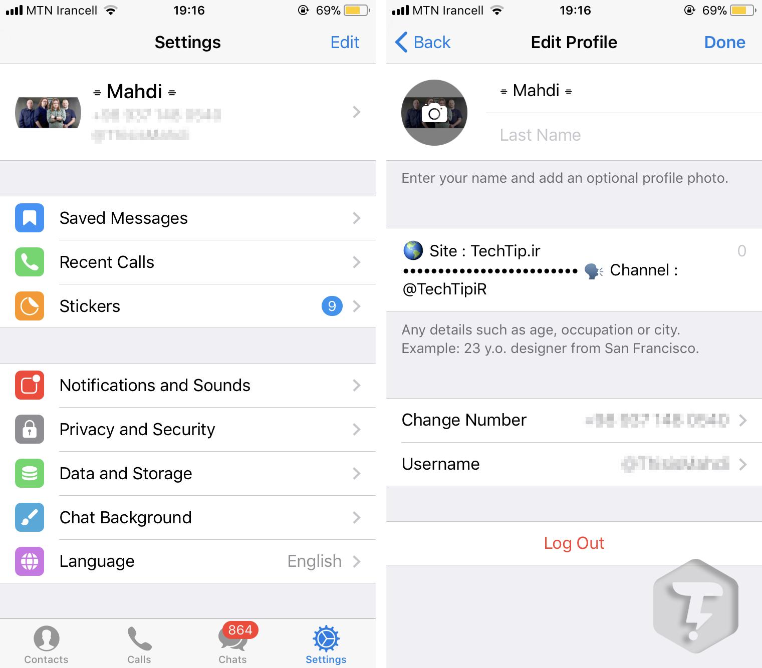 بروزرسانی جدید تلگرام