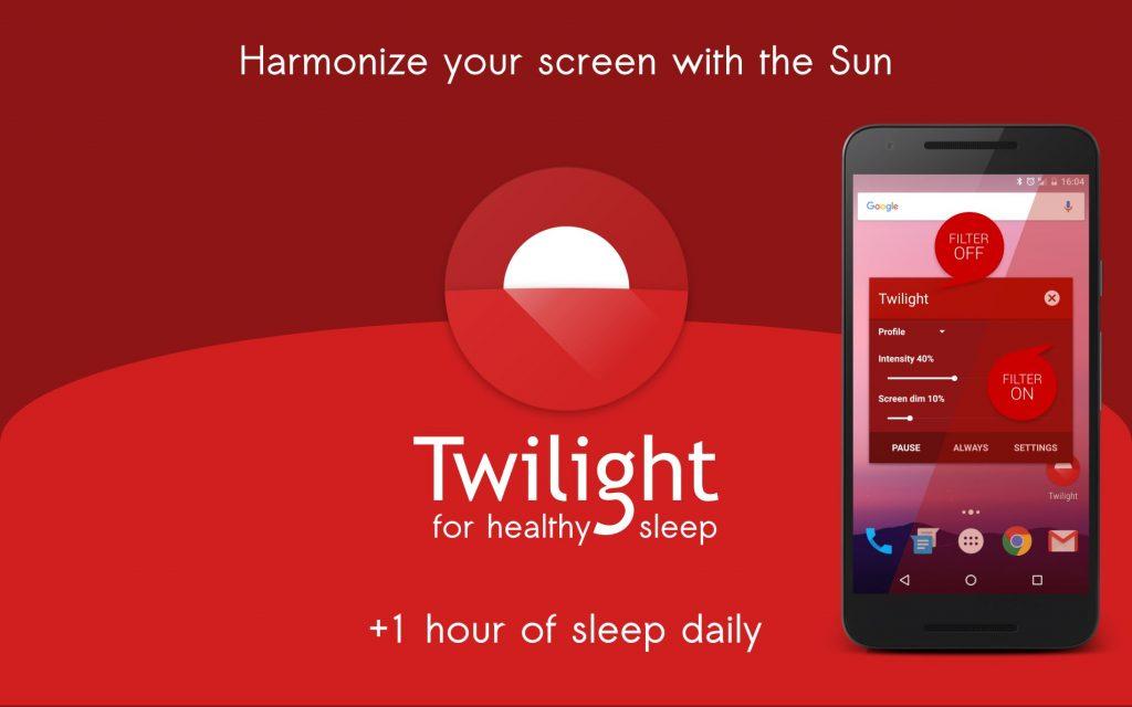 معرفی نرم افزار محافظت از چشم در برابر نور گوشی