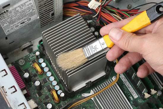 جلوگیری از افزایش دمای بیش از حد کامپیوتر