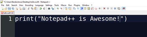 زبان برنامه نویسی سوئیفت Swift
