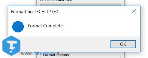 آموزش فرمت کردن فلش و هارد دیسک و نکات مهم | تک تیپ