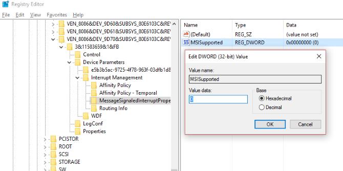 مشکل Disk Usage با رجیستری