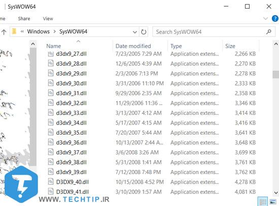 نسخه های مختلف از DirectX