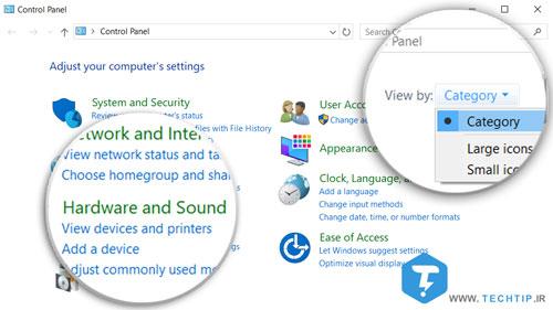 تغییر نام پرینتر ویندوز 8 ، 7 و 8.1