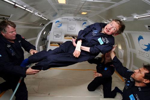 استیون هاوکینگ | سفر به فضا