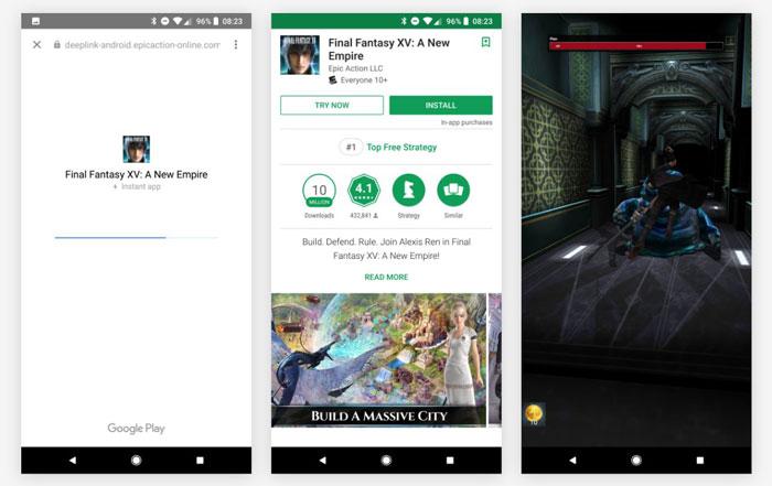 قابلیت Google Play Instant