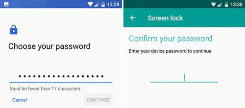 قفل کردن گوشی با پسورد Password