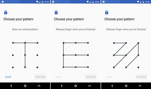 قفل کردن گوشی با Pattern