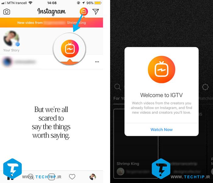 ساخت کانال IGTV در اینستاگرام
