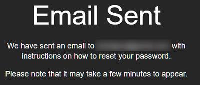 بازیابی رمز عبور اسنپ چت با استفاده از وبسایت