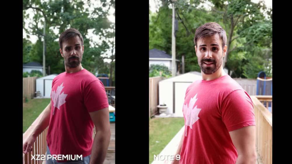 مقایسه کیفیت دوربین دوگانه اکسپریا XZ2 Premium و گلکسی نوت 9