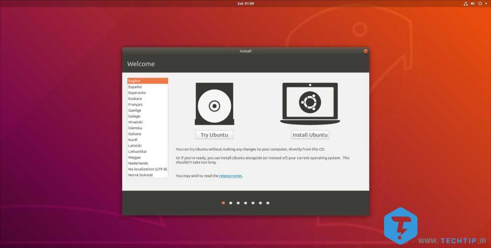 نصب لینوکس روی سیستم عامل مک