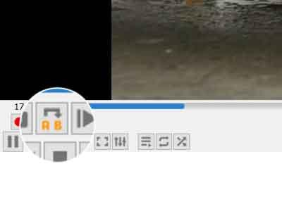 حلقه تکرار در VLC