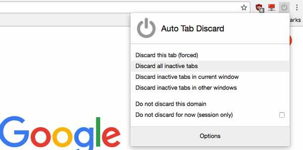 Auto Tab Discard