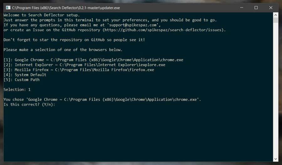 تغییر موتور جستجوی ویندوز 10