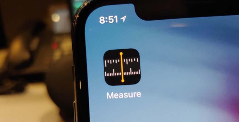 برنامه Measure اندازه گیری