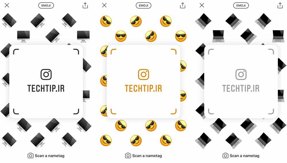 Nametag Emoji