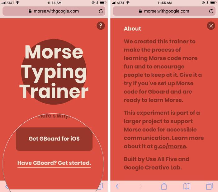 یادگیری کد مورس