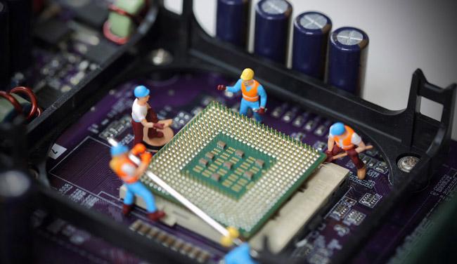 ارتقاء سی پی یو CPU کامپیوتر