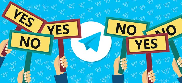 Telegram-Vote-Without-Robot