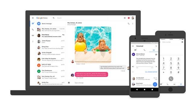 Google Voice ارسال SMS از کامپیوتر