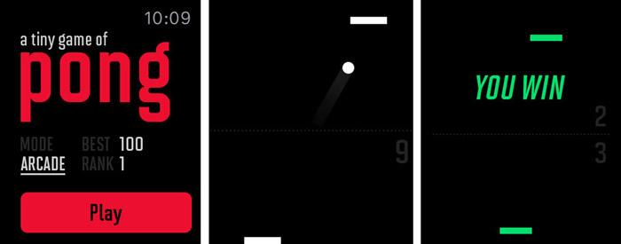 بازی Pong اپل