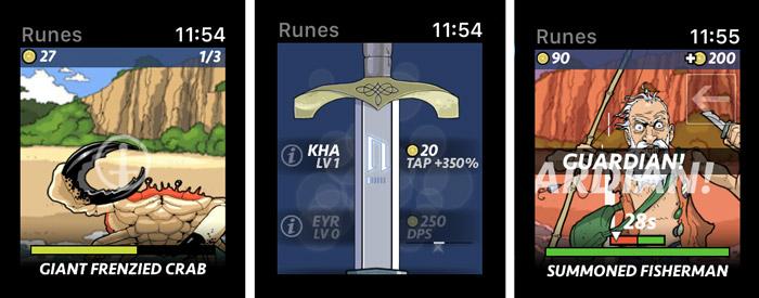 بازی Runeblade اپل واچ