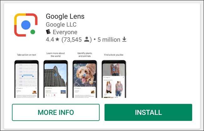 نرم افزار Google Lens
