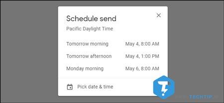 چگونه در دسکتاپ ارسال ایمیل را باید برنامه ریزی کرد