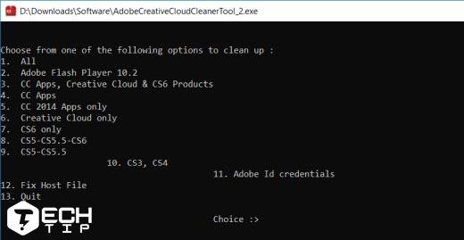 آموزش حذف برنامه Adobe Creative Cloud