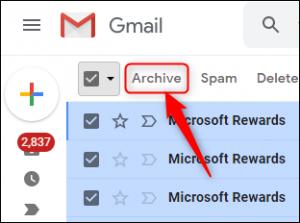 سازماندهی ایمیل ها