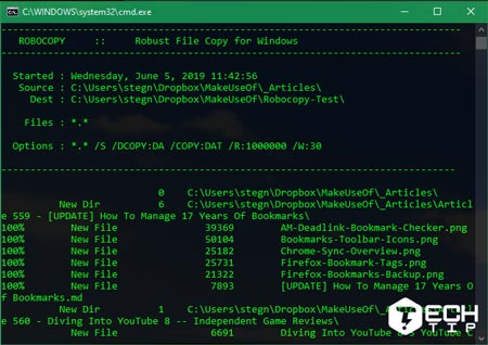 کپی سریع فایل در ویندوز