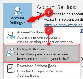 آموزش حذف حساب Outlook