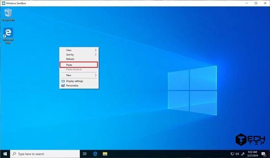Windows Sandbox در ویندوز 10