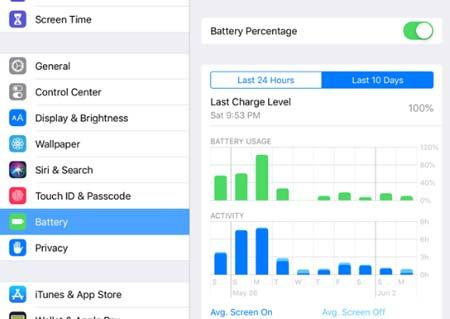 ذخیره سازی باتری آیفون در iOS 13