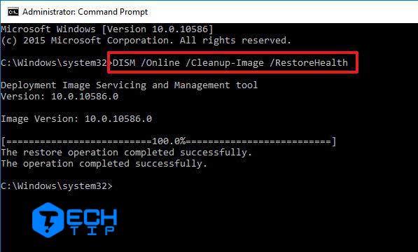 تعمیر فایل های سیستم با استفاده از DISM در ویندوز 10