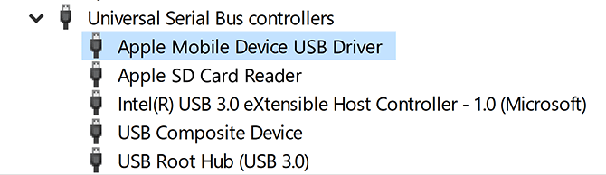 عیب یابی درایور Apple Mobile Device USB آیفون