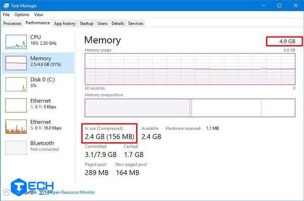 ارتقاء حافظه سیستم برای بهبود کارایی و افزایش سرعت ویندوز