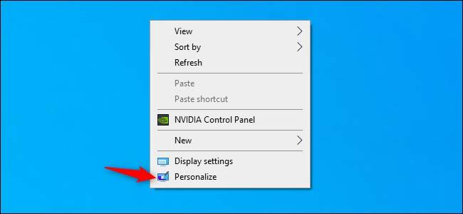 فعال کردن قابلیت تم روشن ویندوز 10