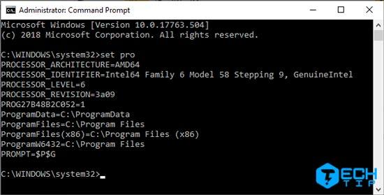 تشخیص 32 بیتی و 64 بیتی ویندوز