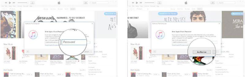 فعال کردن دسترسی iTunes در ویندوز به اطلاعات گوشی