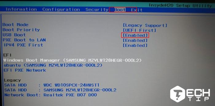 بوت کردن کامپیوتر در ویندوز 10