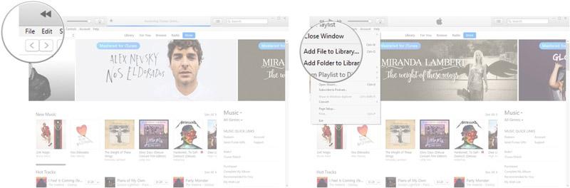 وارد کردن اطلاعات خود در iTunes