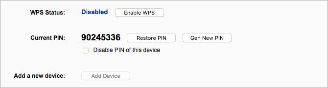 غیرفعال سازی WPS و UPnP برای امنیت بیشتر وای فای