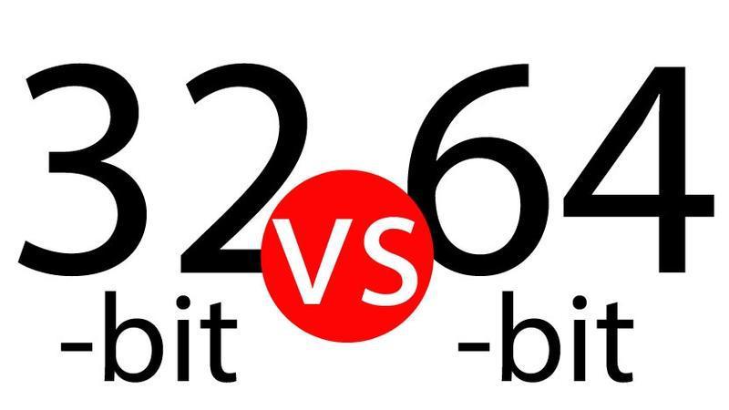 تفاوت بین سی پی یو 32 بیتی و سی پی یو 64 بیتی